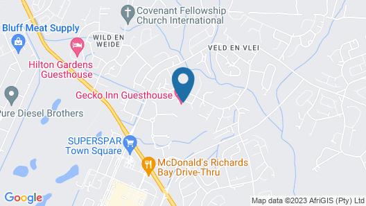 Gecko Inn Guest House Map