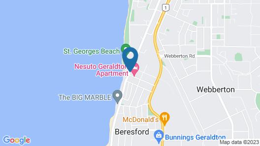 Nesuto Geraldton Map