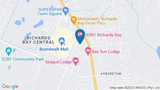 Road Lodge Richards Bay Map