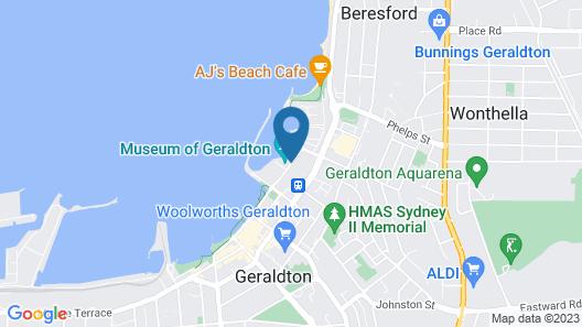 Mantra Geraldton Map