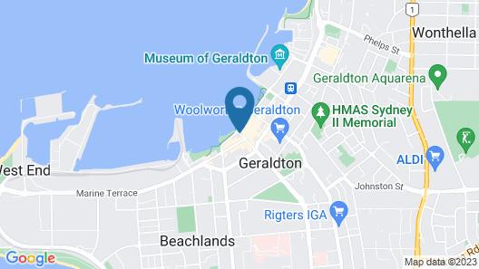 Ocean Centre Hotel Map