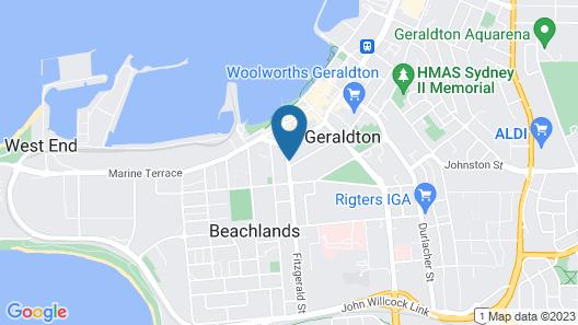 Como Apartments - Geraldton Map