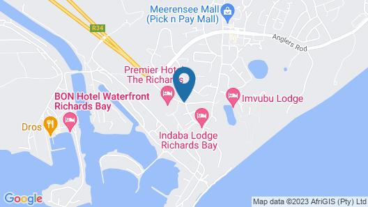 Premier Splendid Inn Bayshore Map