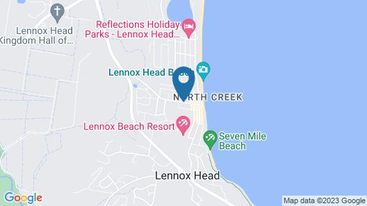 Santa Fe Motel & Holiday Units Map