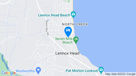 Lennox Beach Resort Map