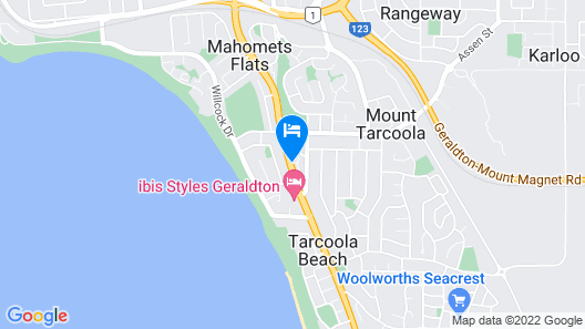 Geraldton Motor Inn Map