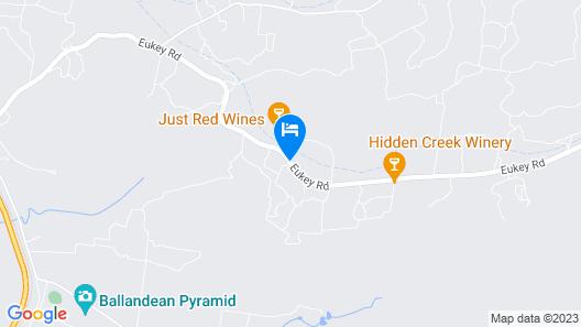 Cypress Ridge Cottages Map