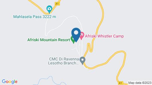 Afriski Mountain Resort Map