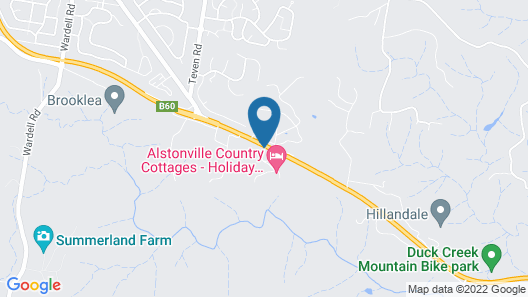 Alstonville Country Cottages Map