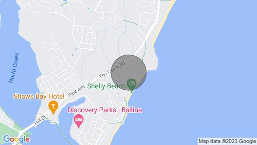 Haere Mai 2 - East Ballina - Comfortable Stroll to Shelly Beach Map