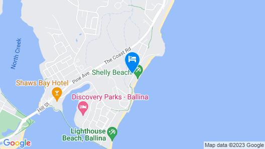 Shelly Beach House Map