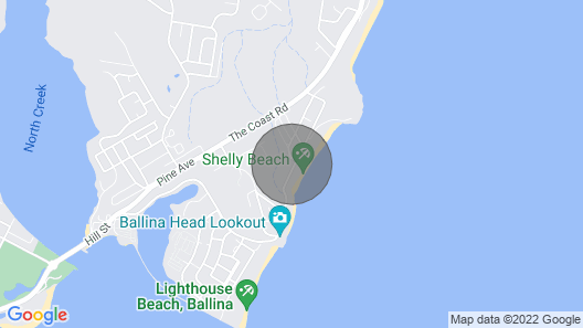 Shelly Beach House 1 - Perfect Weekend Getaway Map