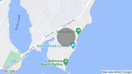 Oceanic 3 - East Ballina - Luxury Apartment With Stunning Ocean Views & Wifi Map