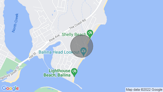 Surfside @ Shellys - East Ballina - Executive style Townhouse Close to Shelly Beach Map