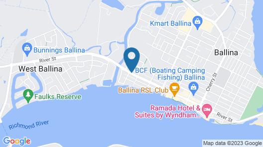 Ballina Byron Motor Inn Map