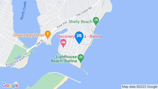 Ballina Beach Resort Map