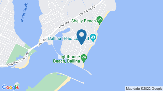 Quality Hotel Ballina Beach Resort Map