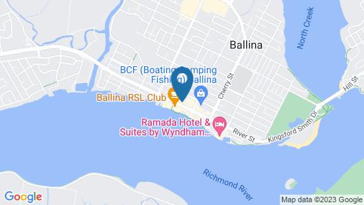 Richmond Motor Inn Map