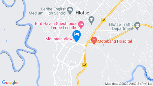 Mountain View Hotel Map