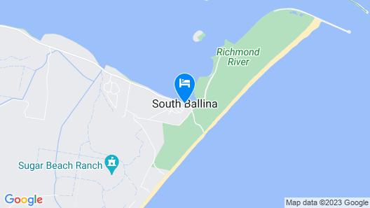 Ballina Beach Nature Resort Map