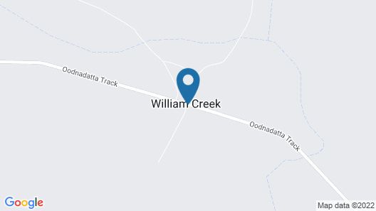 William Creek Camp Ground & Units Map