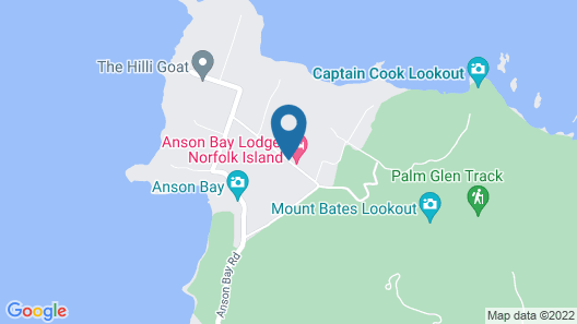 Anson Bay Lodge Map
