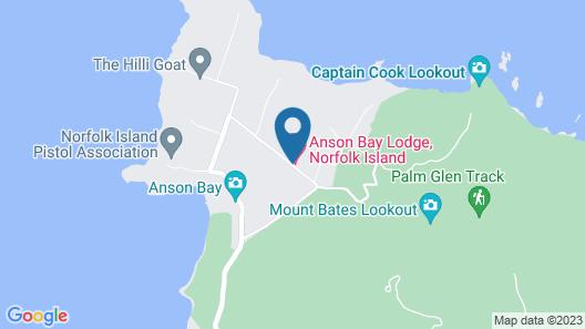Dii Elduu House & Cottage Map