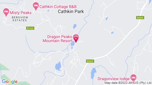 Dragon Peaks Mountain Resort Map