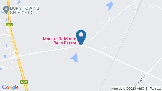 Mont d'Or Monte Bello Estate Map