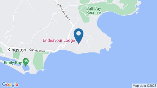 Endeavour Lodge Map