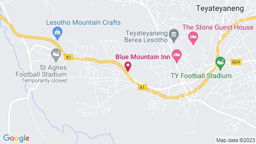 Ka Pitseng Guest House Map