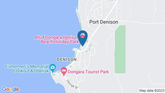 BIG4 Dongara Denison Beach Holiday Park Map