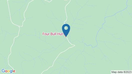 Four Bull Hut Map