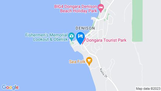 Dongara Tourist Park Map