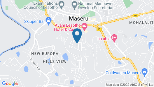 Kick4Life Hotel & Conference Centre Map