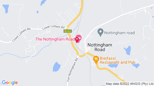 Nottingham Road Hotel Map