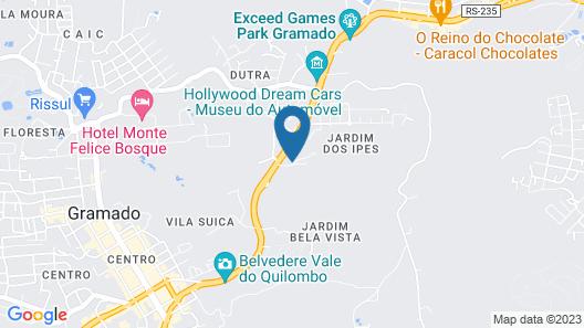 Villa Bella Hotel Conceito Map