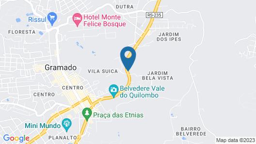 Hotel Laghetto Siena Map