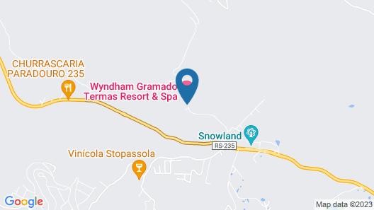 Wyndham Gramado Termas Resort & Spa Map