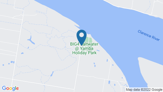 BIG4 Saltwater At Yamba Holiday Park Map