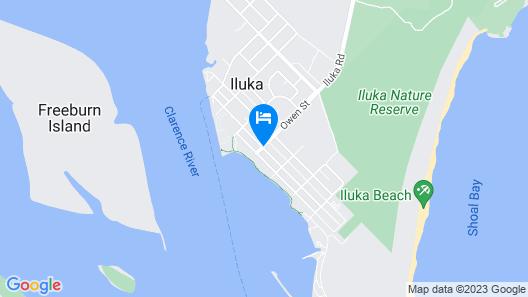 Iluka Motel Map