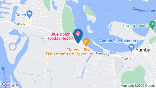Blue Dolphin Holiday Resort Map