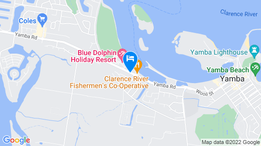 Moby Dick Waterfront Resort Motel Map