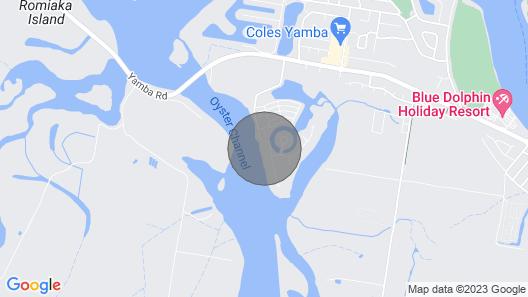Ralph's Cottage Orion Drive Yamba - Pet Friendly Free Wi-fi Map