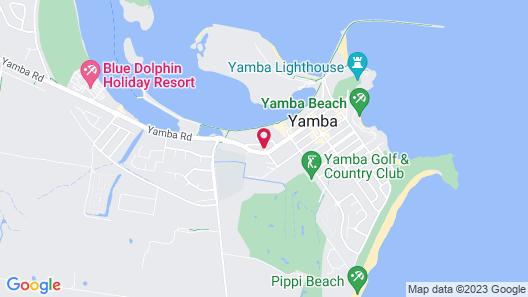 Yamba Sun Motel Map