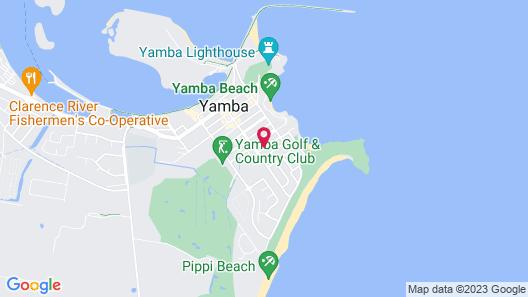 Clubyamba Beach Holiday Accommodation - Adults Only Map