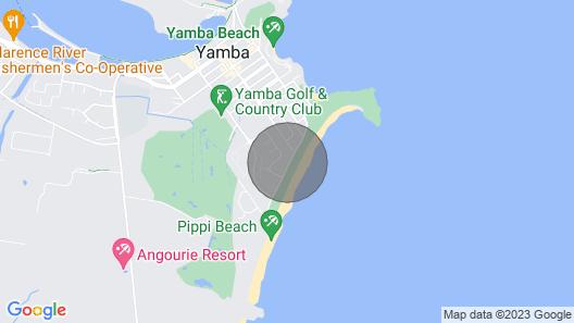 Leonard's On Pippi Beach, Dog Friendly Map