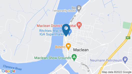 Maclean Hotel Map
