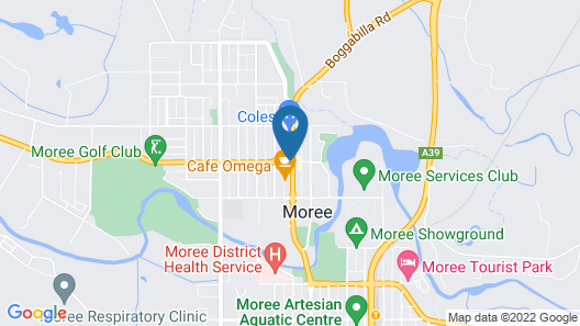 The Imperial Moree Map