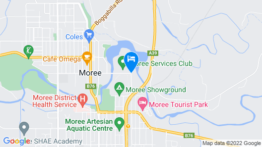 Albert Motel Map